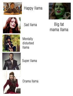 """The Llama Song (OUAT version) "" by nerdbucket ❤ liked on Polyvore featuring Once Upon a Time, Disney, ouat and Twaimz"