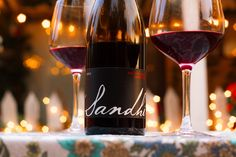 2011 Sandhi Santa Rita Hills Pinot Noir Santa Barbara County, Pinot Noir, Wines, Red Wine, Alcoholic Drinks, Glass, Liquor Drinks, Drinkware, Alcoholic Beverages
