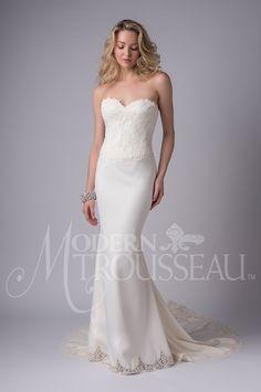 Liana | Modern Trousseau  #weddingbelles #weddingbellesnola #neworleans #nola #neworleansbride #neworleanswedding #bride #bridalgown #moderntrousseau #moderntrousseaubride #madeintheusa #madeinCT