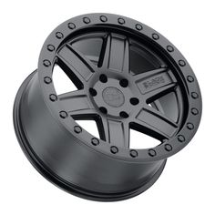 The Black Rhino Attica is a strong six spoke truck wheel with an aggressive concave center. The thick wheel spokes are accented by sharp pockets to reduce weight as well as give the wheel a sculpted look. The Attica truck wheels are offered in two standard finishes. Jeep Wheels And Tires, Truck Wheels, Black Lips, Matte Black, Rims For Cars, Car Rims, Black Bolt, Concave, Performance Parts