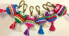 LLAVEROS TEJIDOS A MANO - Crochet - Tejidos de Punto - 494050