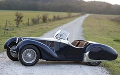 1938 Bugatti Type 57C Roadster. This is one of my favorite cars, so i will take two: this one for classic drive.