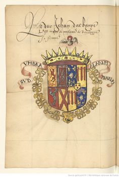 Généalogie fabuleuse d'Anne de La Tour, comtesse de Boulogne, femme de Jean Stuart, duc d'Albany.
