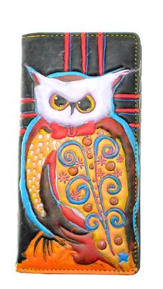 OWL~ ZIP AROUND ORGANIZER  WALLET SHAGWEAR NWT & GIFT BOX #SHAGWEAR #BifoldWallet