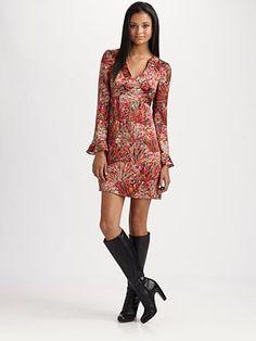 Nanette Lepore Cedarwood Dress