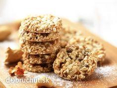 Ovsené sušienky s orieškami a chia semenami