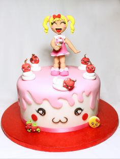 COMPLETE TUTORIAL AT THIS LINK: http://cake.corriere.it/2014/03/27/bambolina-kawaii/