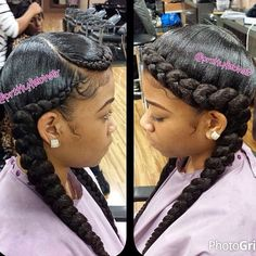 Ghana Braids With Updo Straight Up Hairstyles For
