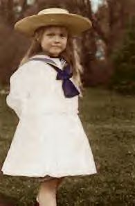 Anastasia Nicholaevna Romanov.  I believe this is an autochrome photo.