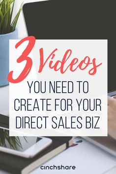 Video is one of the BEST ways to market your business! Read our blog with Laurie Girardi to learn the 3 videos you need to make to grow your DS biz!