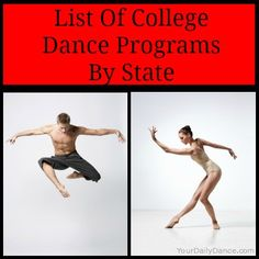 College Dance Programs - List and links to dance departments...
