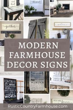 Rustic Modern Farmhouse Signs and Wall Art - Instant Farmhouse Feeling Farmhouse Dining Room Lighting, Country Farmhouse Decor, Farmhouse Signs, French Country Decorating, Farmhouse Office, Coastal Farmhouse, Rustic Decor, Farmhouse Style, Vaping