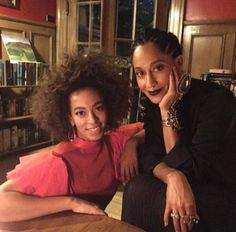 Solange & Tracee Ellis Ross. My Faves!