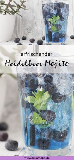 Mojito Cocktail, Cocktail Sauce, Cocktail Shaker, Cocktail Movie, Cocktail Recipes, Refreshing Summer Cocktails, Summer Drinks, Lavender Syrup, Blueberry Lemonade