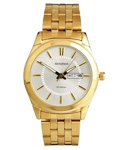 Enlarge Sekonda Gold Bracelet Strap Watch