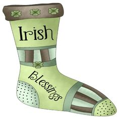 Irish Christmas ornament.