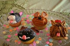 puppy cupcakes!