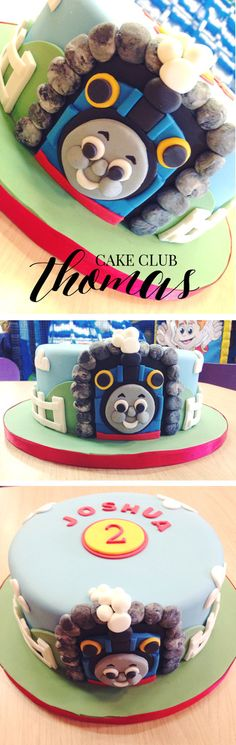 Which little boy, or girl doesn't like Thomas? I made this Thomas the Tank Engine birthday cake