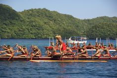 Outrigger Canoe Race