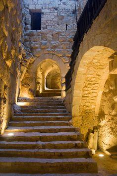 File:Ajlun Castle Steps.jpg