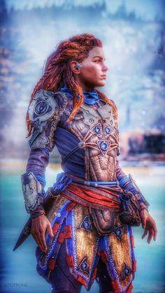 Fantasy Girl, Sci Fi Fantasy, Video Game Art, Video Games, Horizon Zero Dawn Wallpaper, Horizon Zero Dawn Aloy, Playstation, Warframe Art, Ps4 Exclusives