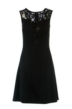 470327e4e9 Vestido escote con encaje Vestido Estampado