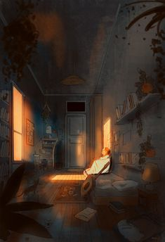 It's a crazy world right now. I don't want to ignore it or hide. I just need a moment to let it go. Then deal with it again. Pascal Campion, Fantasy Landscape, Museum, Aesthetic Anime, Les Oeuvres, Cool Art, Anime Art, Illustration Art, Dragonfly Illustration