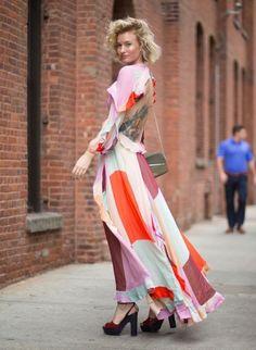 El Vestido Que Todas Las Estrellas Del Street Style Están Usando | Cut & Paste – Blog de Moda