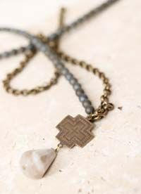 """""""Never-Failing"""" Necklace: www.ctbling.com """"Let justice roll on like a river, righteousness like a never-failing stream."""" Amos 5:24"""