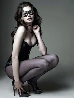 Ann Hathaway the next catwomen..