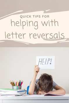 Use these strategies and activities to help children with common letter reversals. Early Education, Childhood Education, Special Education, Kindergarten Rocks, Kindergarten Teachers, Word Building, Hands On Learning, Learning Disabilities, Writing Practice