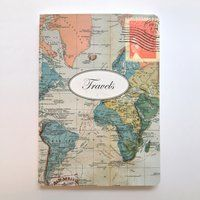 Travels Journal - $12,50