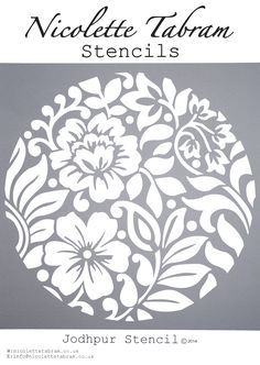 New Wall Stencil Patterns Templates Art Deco 46 Ideas Stencil Fabric, Stencil Diy, Kirigami, Machine Silhouette Portrait, Diy And Crafts, Paper Crafts, Stenciled Floor, Paper Cutting, Embroidery Patterns