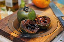 Black Sapote. A fruit that looks like a rotten green tomato but tastes like chocolate pudding. Why isn't this in every supermarket in the country?