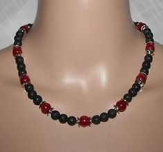 Lava, Beaded Necklace, Jewelry, Fashion, String Of Pearls, Black, Beaded Collar, Moda, Pearl Necklace