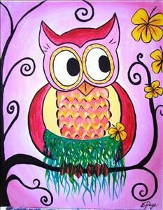 Cute owl...minus the grass skirt