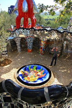 Tarot Garden by Nikki de Saint Phalle