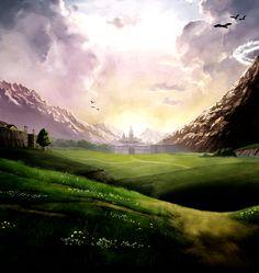 legend of zelda hyrule castle   To Hyrule Castle by Trilyan