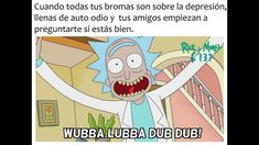Read 153 from the story Fondos De Rick y Morty,Gravity Falls y Steven Universe comics by emycoyfer (Emifercoy) with. English Memes, Funny Spanish Memes, Spanish Humor, Funny Memes, Rick Y Morty Español, Ricky Y Morty, Beagle Funny, Wubba Lubba, Steven Universe Comic