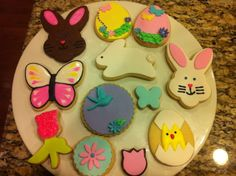 Easter and Spring Cookies