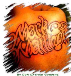 Back Tattoo by Don Catfish Gorospe