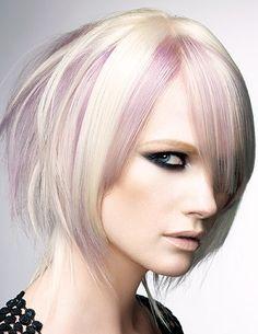 Medium blonde pastel look