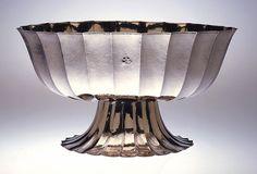 Bowl. Designed by Josef Hoffmann (Czech, active Vienna, 1870–1956?), produced by Wiener Werkstätte, Vienna, 1917.