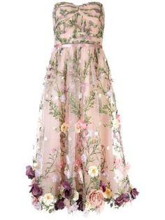 Marchesa Notte – Shop Marchesa Notte at Farfetch Dressy Dresses, Prom Dresses, Wedding Dresses, Pageant Gowns, Club Dresses, Vestido Sherri Hill, Fancy Dress, Dress Up, Tea Length Dresses