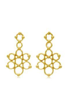 Passiana Gold Floral Earrings, http://www.myhabit.com/redirect/ref=qd_sw_dp_pi_li?url=http%3A%2F%2Fwww.myhabit.com%2Fdp%2FB00XVRME1C%3F