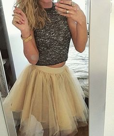 Another happy customer is our beige Tutu! YAY! XOXO