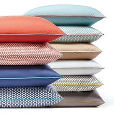 Funda de almohada  de almohada larga de percal, DUO La Redoute Interieurs - Textil Hogar