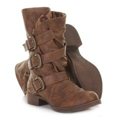 Blowfish Kasbah Biker Boots - Whiskey Old Saddle < these are totally Merlin boots and I need them