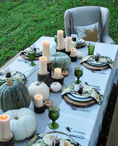 10 Thanksgiving Tablescapes More Delicious Than Pumpkin Pie
