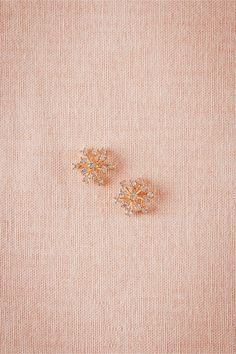 Crystallized Allium Posts in Shoes & Accessories Jewelry at BHLDN